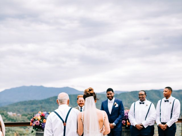 Aubrey and Laura's Wedding in Pigeon Forge, Tennessee 35