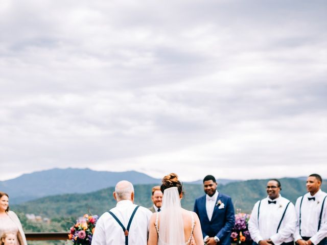Aubrey and Laura's Wedding in Pigeon Forge, Tennessee 36