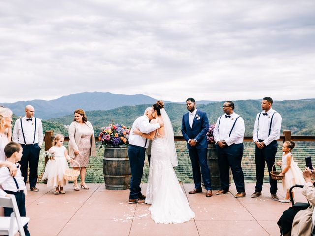Aubrey and Laura's Wedding in Pigeon Forge, Tennessee 37