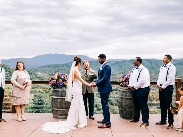 Aubrey and Laura's Wedding in Pigeon Forge, Tennessee 38