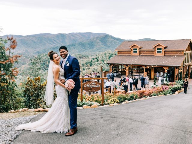 Aubrey and Laura's Wedding in Pigeon Forge, Tennessee 45