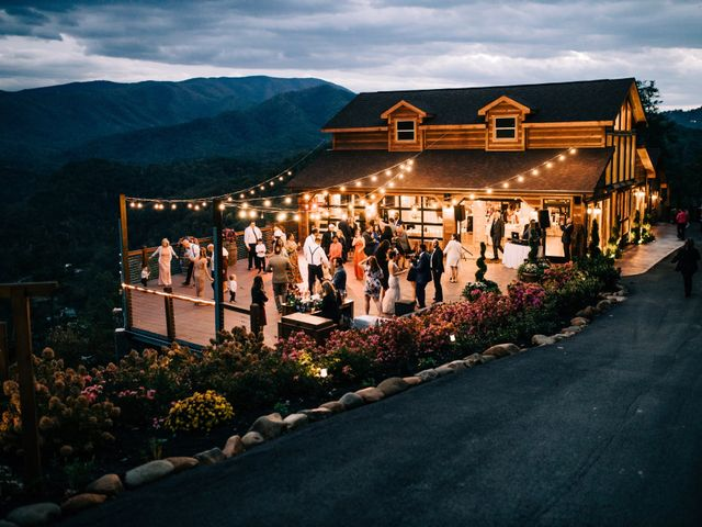 Aubrey and Laura's Wedding in Pigeon Forge, Tennessee 52