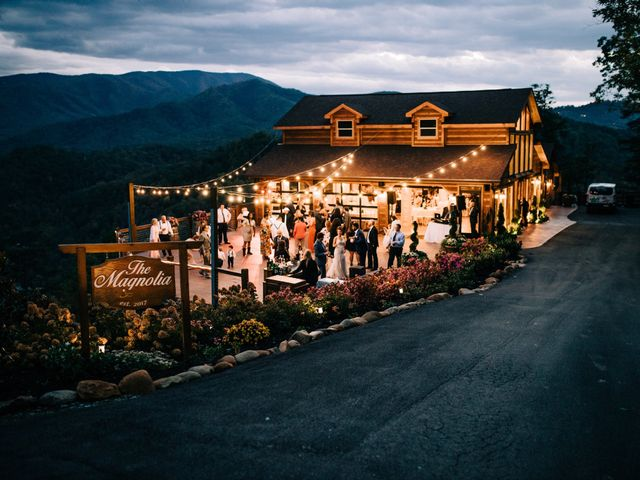 Aubrey and Laura's Wedding in Pigeon Forge, Tennessee 53