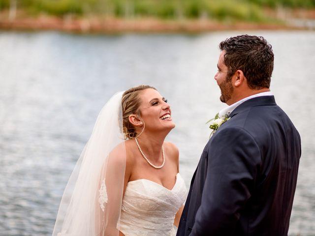 Austin and Jenni's Wedding in Colorado Springs, Colorado 1