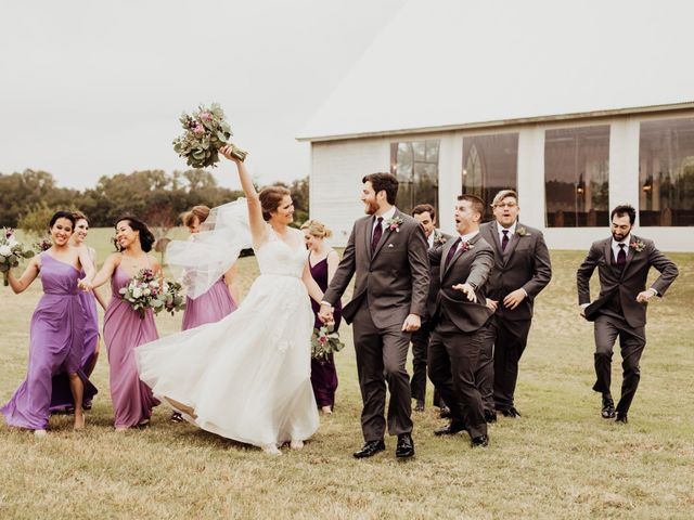 Levi and Erika's Wedding in Weatherford, Texas 7