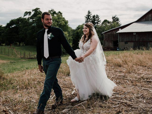 The wedding of Sarah and Josh