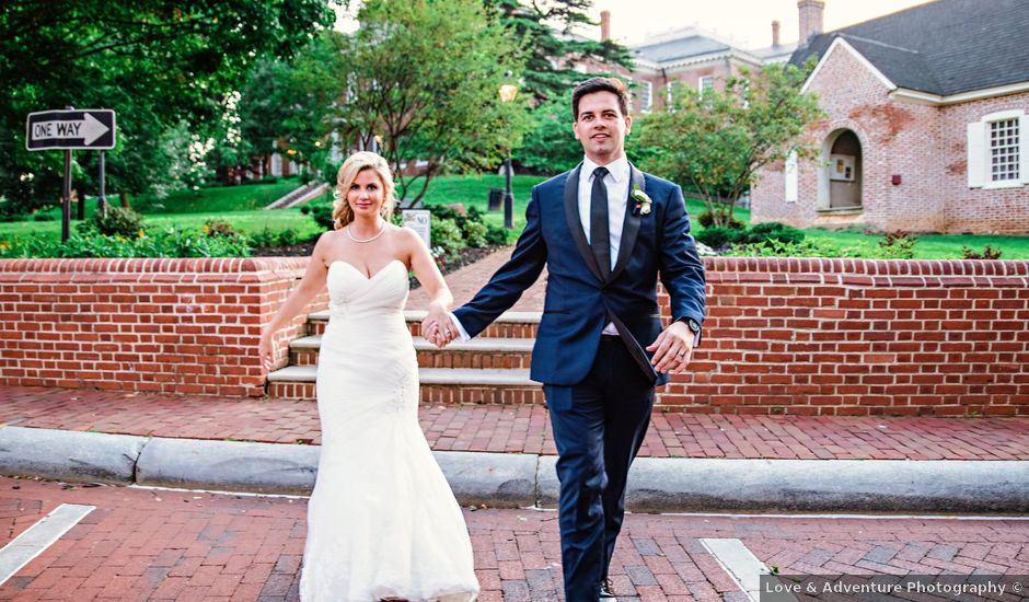 Bobby and Meghan's Wedding in Annapolis, Maryland