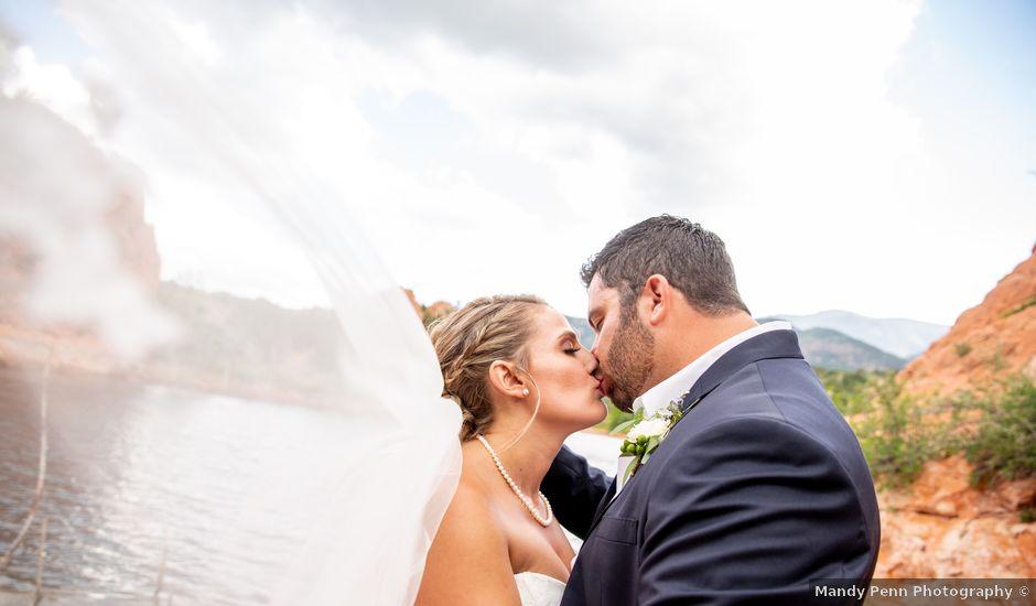 Austin and Jenni's Wedding in Colorado Springs, Colorado