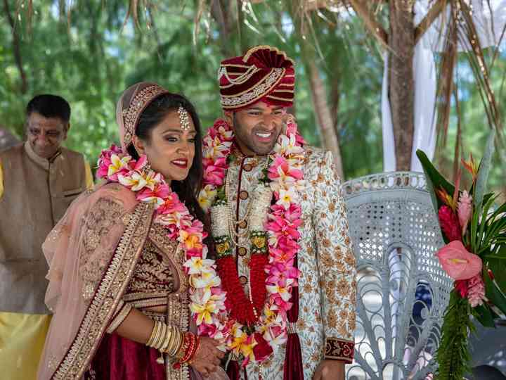 The wedding of Manta and Anand