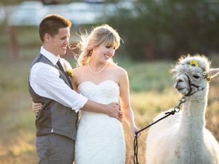 The wedding of Sinead and Aaron