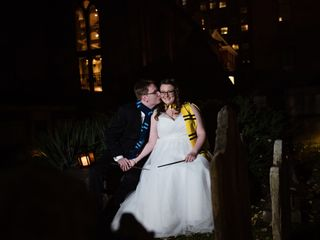 The wedding of Renee and Billy