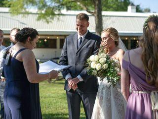 The wedding of Abbie and Matt 1