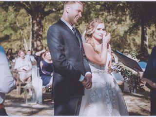 The wedding of Abbie and Matt 2