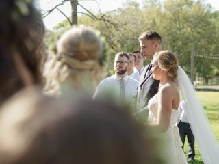 The wedding of Abbie and Matt 3