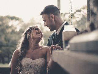 The wedding of Abbie and Matt