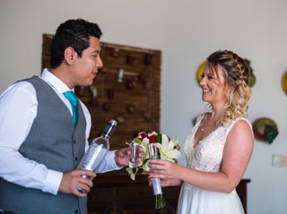 The wedding of Karina and Josue 1