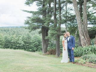 The wedding of Corrina and Kyle