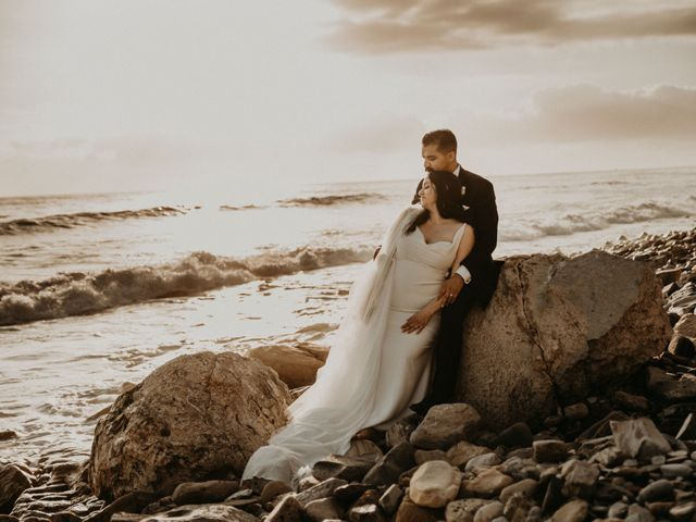 The wedding of Paul and Christina