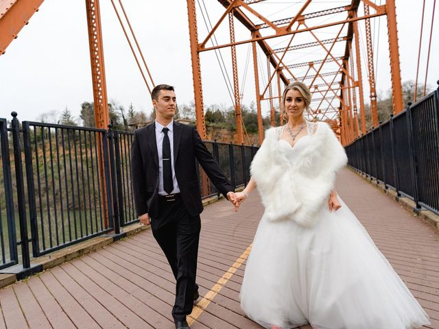 The wedding of Christina and Andrian