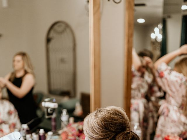 Bailey and Hailey's Wedding in Weatherford, Texas 5