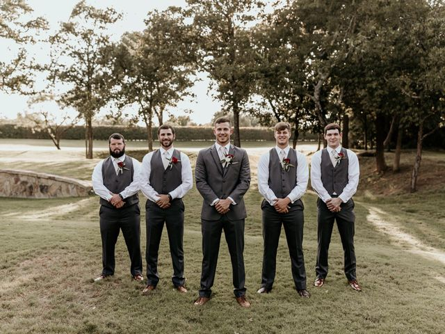 Bailey and Hailey's Wedding in Weatherford, Texas 7