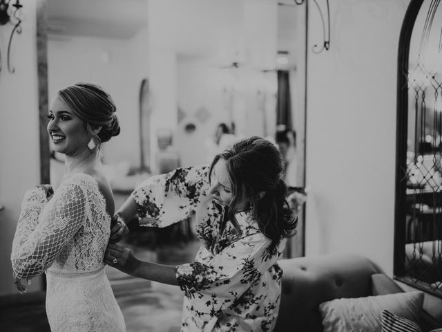 Bailey and Hailey's Wedding in Weatherford, Texas 8