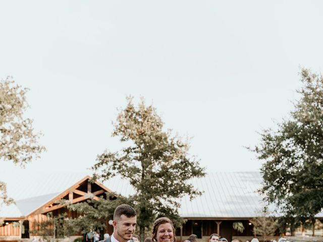 Bailey and Hailey's Wedding in Weatherford, Texas 9