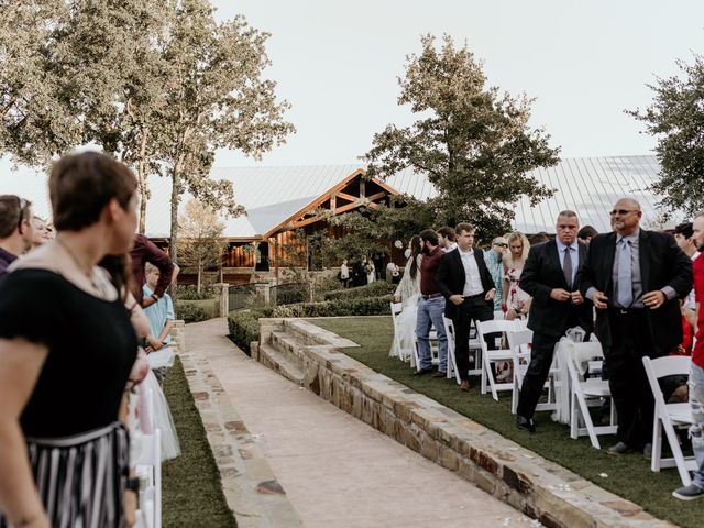 Bailey and Hailey's Wedding in Weatherford, Texas 10
