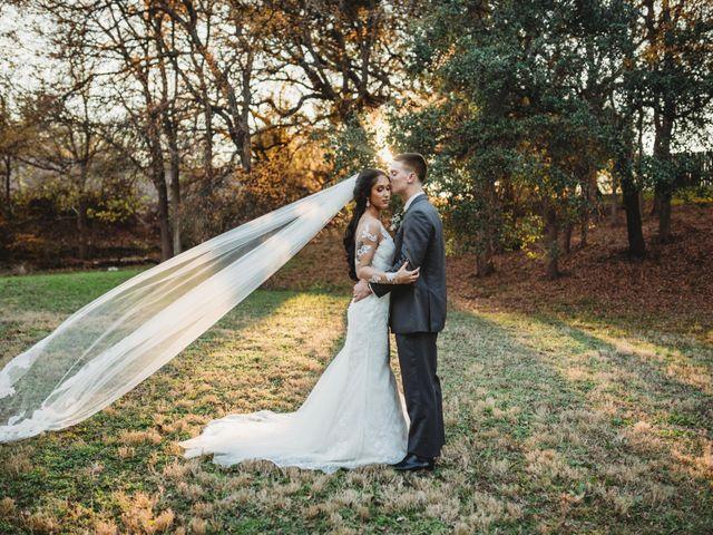 The wedding of Sheldon and Mackenzie