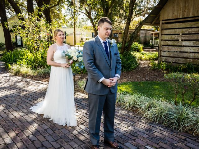 Tom and Lindsay's Wedding in Dover, Florida 10