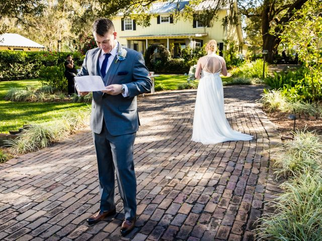 Tom and Lindsay's Wedding in Dover, Florida 12
