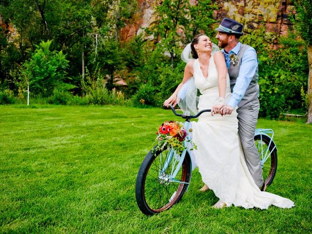 Nicole and Fred's Wedding in Lyons, Colorado 21