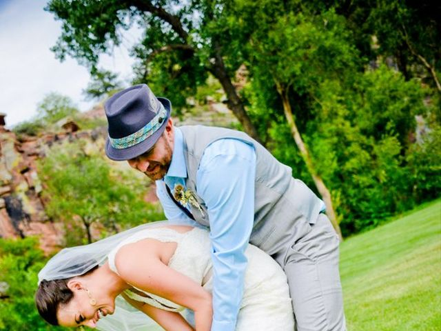 Nicole and Fred's Wedding in Lyons, Colorado 17