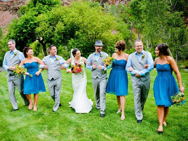 Nicole and Fred's Wedding in Lyons, Colorado 5