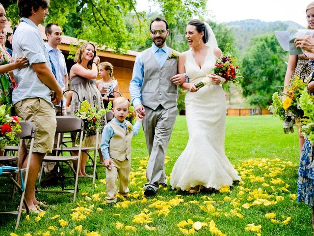 Nicole and Fred's Wedding in Lyons, Colorado 9