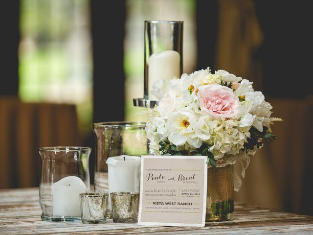 Paula and Brent's Wedding in Dripping Springs, Texas 1