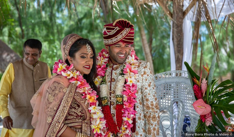 Anand and Manta's Wedding in Bora Bora, French Polynesia