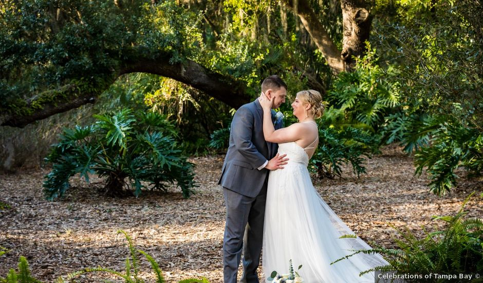 Tom and Lindsay's Wedding in Dover, Florida