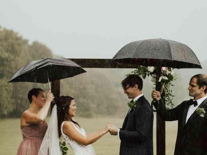 The wedding of Liv and John