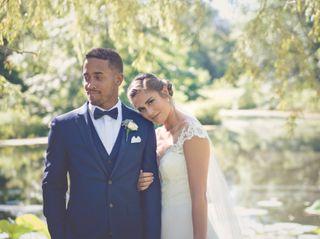 The wedding of Amy and Jordan