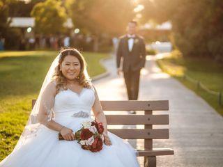 The wedding of Mark and Julia 1
