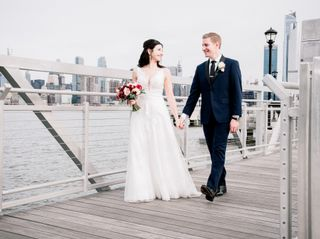 The wedding of Rebeccs and William