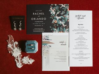 The wedding of Rachel and Orlando 1