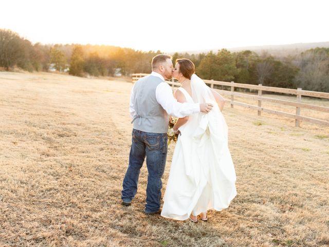 Allen and Cheri's Wedding in Magazine, Arkansas 1
