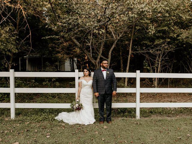 The wedding of Estefany and Eli