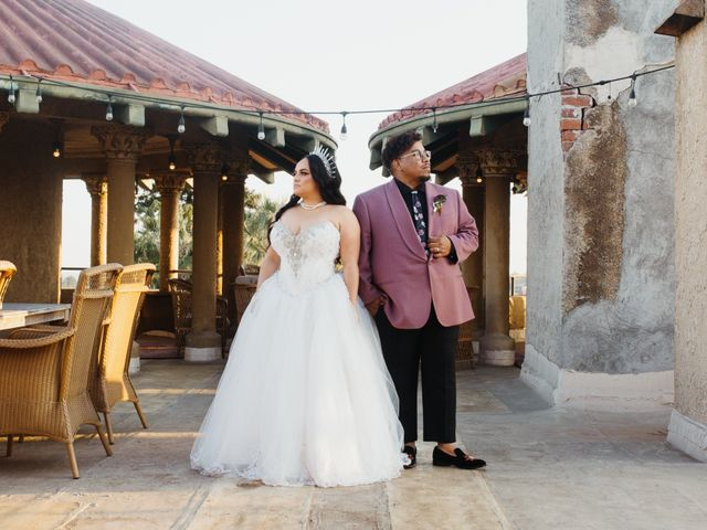 The wedding of Michael and Samantha