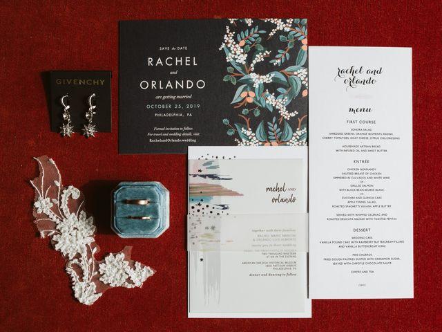 Orlando and Rachel's Wedding in Philadelphia, Pennsylvania 3