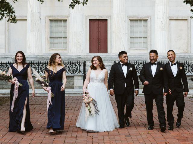 Orlando and Rachel's Wedding in Philadelphia, Pennsylvania 18