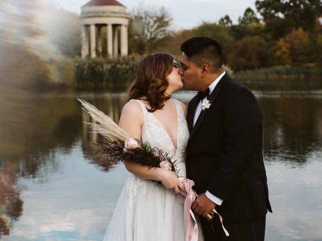 The wedding of Rachel and Orlando