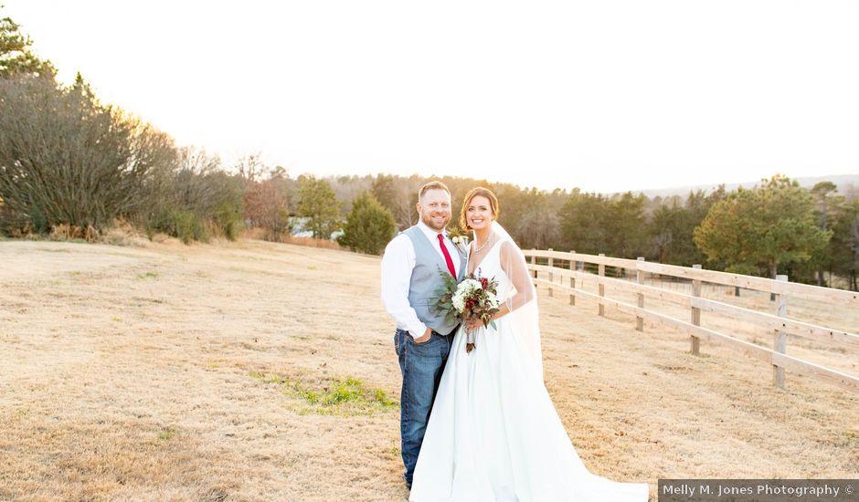 Allen and Cheri's Wedding in Magazine, Arkansas